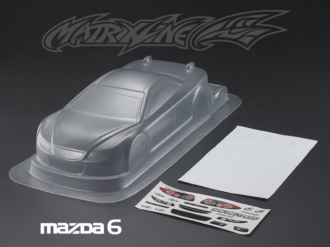 Stm-racingMAZDA 6 PC BODY SHELL PC201011 1:10 eletronic touring car 190mm(China (Mainland))