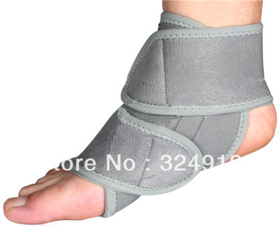 Magnetic neoprene ankle support sporting protector firm compression belt treatment bandage new brand + one piece(China (Mainland))