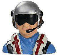 RC Airplane Parts Pilot for Ultimate Bi-plane Free Shipping
