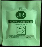 First aid kit sterile gauze piece swab sterile gauze block 8 layer gauze pad WOUND DRESSING