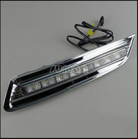 CAR-Specific LED DRL for 2012 Honda Accord Crosstour,LED Daytime Running Lights + Free Shipping By EMS or Fedex,8pcs LED Lights