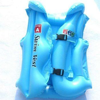 Child life vest inflatable swimwear swimming ring inflatable vest bunts swim ring