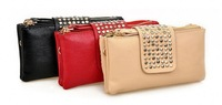 2013 fashion ladies purse, ladies clutch bag, evening bag, different colors wholesale