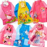 Hotsale kids rain coat children's raincoat rainwear cartoon animal poncho rainsuit  outdoor rainwear for children Free Shipping
