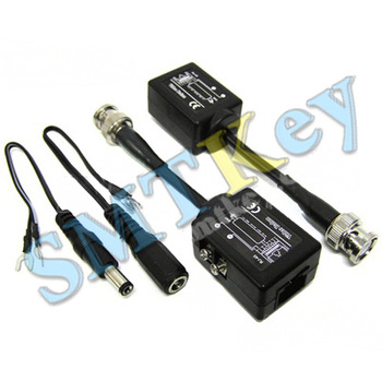 CCTV Camera BNC Video Balun Transceiver UTP Cat5 RJ45