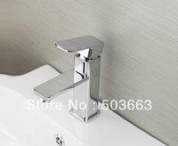 Novel One Handle Deck Mounted Bathroom Basin Faucet Sink Mixer Taps Vanity Chrome Faucet L-6069