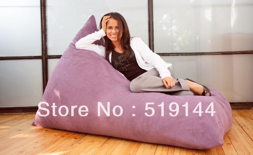 Grátis frete EXTRA grande e acolhedor Pivot Bean Bag Chair sofá da sala almofada beanbag cadeira moderna(China (Mainland))