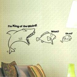 Versandkostenfrei hai fressen kleine fische schlafzimmer for Fressen kois kleine fische