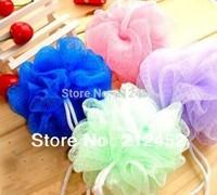 Free shipping Color bath ball Loofah Bath flower,20pcs/lot