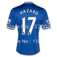 Chelsea Hazard 2013-2014 home jersey