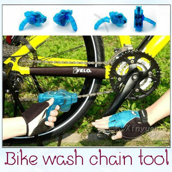Free shipping bicycle wash chain device CL bike wash chain device wash chain box, chain cleaner bicycle accessories