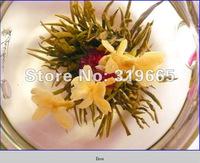 100 pcs different blooming Flowering Tea,good quality randomly send +Secret Gift+freeshipping