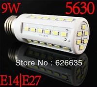5pcs/lot  9W/15W E27/E14/g9 LED Corn Light Bulb 42/ 60 SMD 5630 bulb light retail sale