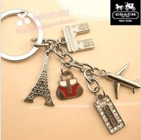 South Korea men give women more than cute car key chain pendant romantic Paris