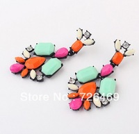 Min.order 1 pc free shipping 2013 women/Girl's Promotion Bohemian Retro Long Earring Pendant Earring