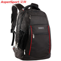 2013 hot selling fashion unisex double-shoulder laptop backpack bag superior quality  canvas student school bag / free shipping
