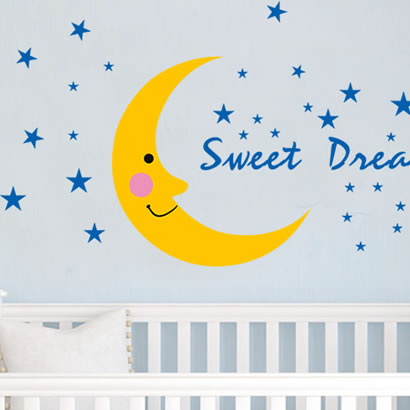 Wall stickers cartoon child real tv wall waterproof sticker