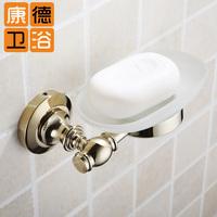 Fashion copper gold soap dish gold small dish gold soap box Soap Dish (KP)