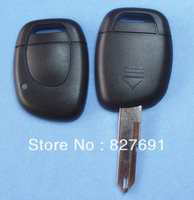 High quality Renault 1 button remote key shell (NE73 blade) without battery place /car Key blank free shipping