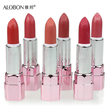 Alobon ameliorate lock rose lipstick 3.8g supple moisturizing lip color lipstick