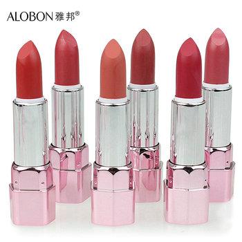 Alobon ameliorate lock rose lipstick 3.8g supple moisturizing lip color lipstick