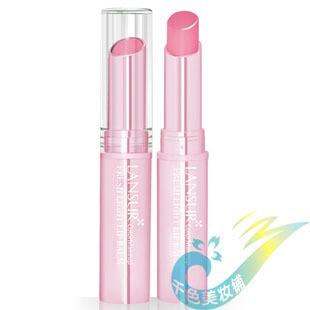 Lansur fresh light color lip balm nude color lipstick orange moisturizing lip balm