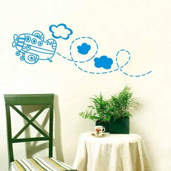 wall decal family art bedroom decor cloud kid bedroom living room decor mural art vinyl wall sticker home