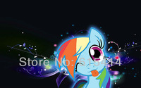 15 My Little Pony Friendship Is Magic cartoon 22''x14'' wall Poster with Tracking Number