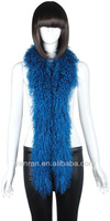 Free Shipping YR-604 Real Mongolia Fur Boa Scarf Lots of Colors ~OEM~Customize~Wholesale