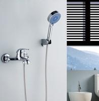 Copper shower set simple shower faucet shower faucet