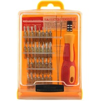 32 in 1 set Micro Pocket Precision Screw Driver Kit Magnetic Screwdriver cell phone tool repair box Wholesale