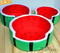 Comfortable pet watermelon bed cat kennel watermelon pet nest