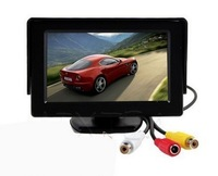 HD 4.3 Inch 9V~35VTFT LCD Rearview Mirror Monitor / FPV Aerial Screen