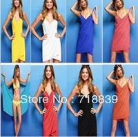 2013 summer fashion sexy personality racerback one-piece dress beach dress veils aprons