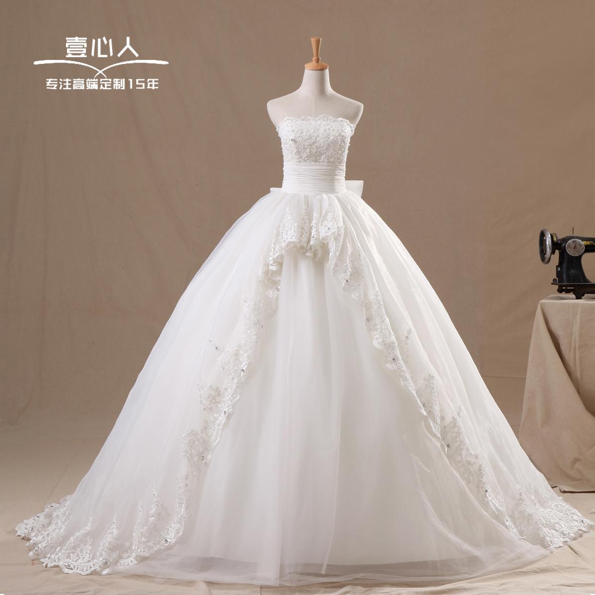 Photoes reais 2013 novo luxo chegada trem REAL vestido de casamento da noiva bandagem vestido de noiva vestidos de noiva(China (Mainland))