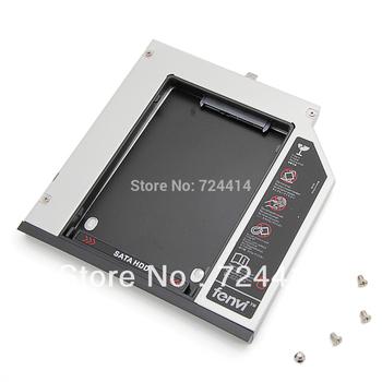 9.5mm SATA 2ND second HDD Hard Drive caddy for Dell Latitude E6410 E6510 E4300