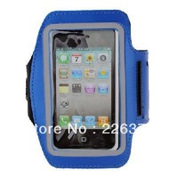 Sports Armband Case Cover Protector for iPhone 5 BLUE-free shipping
