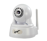 Free Shipping Onvif  WIFI  2.0MP 3.6mm Fixed Lens Day&Night  Pan/ Tilt Plug&Play HD IP  Baby Security cameras (IPS-Eye01W)