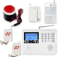 P55 5800 Wireless Telephone Phone Landline ADSL Home Intruder Burglar Alarm System White Remote Controller Timely Arm
