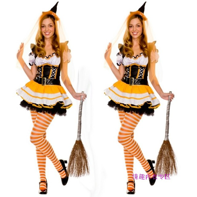 Magic halloween cosplay fashion costumes game service maid service maid equipment(China (Mainland))