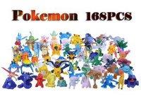 Wholesale Lots 168pcs Pokemon Mini Random Pearl Figures New