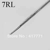 50 Pcs Disposable Round Liner sterile Sterilized Tattoo Machine Needles 7RL Free Shipping