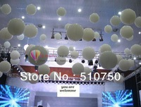 Free Shipping 5pcs/lot 36 inches white giant  balloons Latex,Wedding birthday party decoration high quality Thickening balloon