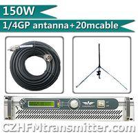 Free Shipping!  FSN-150W 150W FM Transmitter Radio Broadcaster For FM Radio Station +1/4 gp antenna