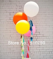 Free Shipping High quality thick pink Color 36 Inch Big Fly Latex Balloons,Birthday Party Decoration Balloon,5pcs/lot