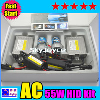 5 SETS PER LOT Fast start 55w hid kit  H1, H3, H7, H8, H9, H10, H11, 9005(HB3), 9006(HB4),880/881 H27 FREE SHIPPING id1626
