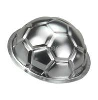 DIY Non-toxic Aluminum Birthday Cake Baking Jello Chocolate Football Pan Mold #g
