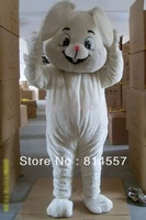 High-quality White Rabbit Mascot Costume Halloween gift costume characters sex dress hot sale
