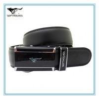 Certified Brand Genuine Leather Automatic Straps  Free Size Cowskin Split Leather Men Waist Belts  Alloy Joint 1.1-1.25M W20001J