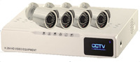 IPS New Product Embedded Linux System H.264 Compression 4CH 720P(1280*720) Recording simultaneously IP Cameras(IPS-Ki-K4)